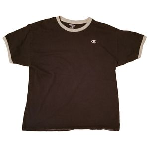 Black Champion T Shirt
